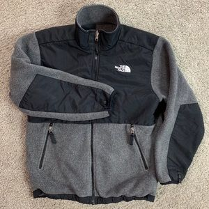 The North Face Boy Polartec Fleece Jacket L Gray
